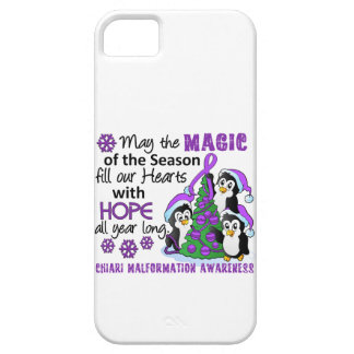 Christmas Penguins Chiari Malformation iPhone 5 Cases