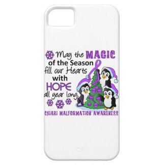 Christmas Penguins Chiari Malformation iPhone 5 Case
