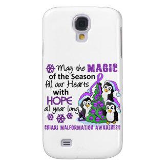 Christmas Penguins Chiari Malformation Galaxy S4 Cases