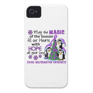 Christmas Penguins Chiari Malformation Case-Mate iPhone 4 Case