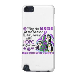 Christmas Penguins Chiari Malformation iPod Touch (5th Generation) Case