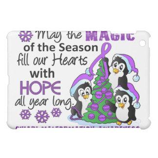 Christmas Penguins Chiari Malformation Case For The iPad Mini