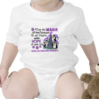 Christmas Penguins Chiari Malformation Tee Shirts