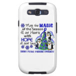 Christmas Penguins Chronic Fatigue Syndrome CFS Galaxy S3 Cover