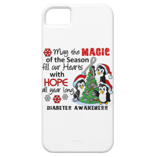 Christmas Penguins Diabetes iPhone 5 Cases