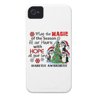 Christmas Penguins Diabetes iPhone 4 Cover