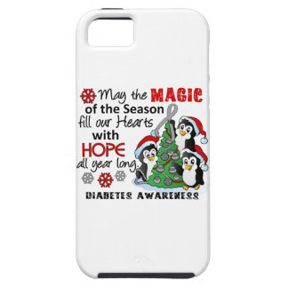 Christmas Penguins Diabetes iPhone 5 Case