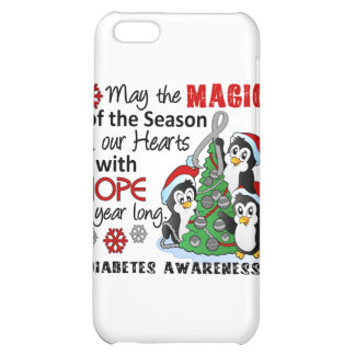 Christmas Penguins Diabetes iPhone 5C Cases