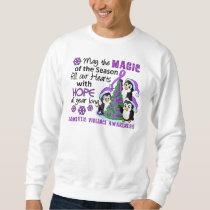 Christmas Penguins Domestic Violence Sweatshirt