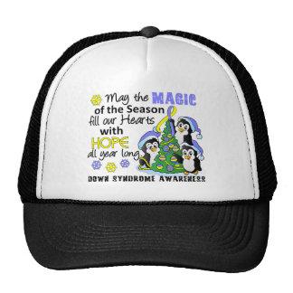 Christmas Penguins Down Syndrome Trucker Hat