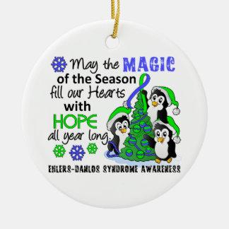 Christmas Penguins Ehlers Danlos Syndrome EDS Ornaments
