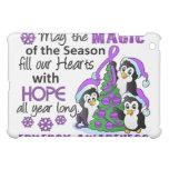 Christmas Penguins Epilepsy iPad Mini Covers