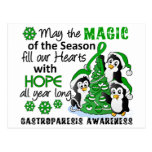 Christmas Penguins Gastroparesis Post Cards
