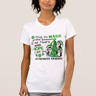 Christmas Penguins Gastroparesis Tee Shirts