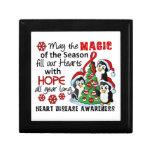 Christmas Penguins Heart Disease Gift Box
