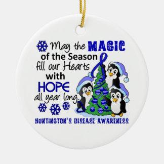 Christmas Penguins Huntington's Disease Christmas Ornaments