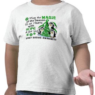Christmas Penguins Kidney Disease T Shirt