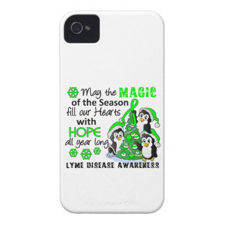 Christmas Penguins Lyme Disease iPhone 4 Cover