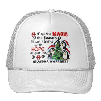 Christmas Penguins Melanoma Hats