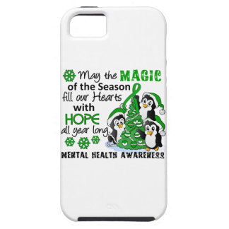 Christmas Penguins Mental Health iPhone 5 Cover