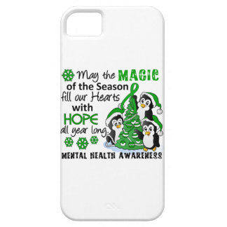 Christmas Penguins Mental Health iPhone 5 Covers