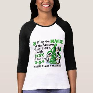 Christmas Penguins Mental Health T-shirt