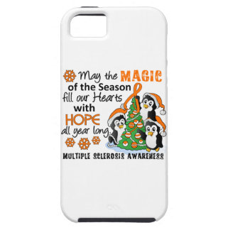 Christmas Penguins Multiple Sclerosis MS iPhone 5 Covers