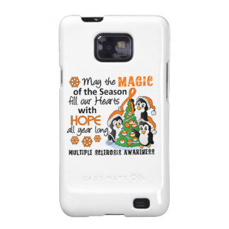 Christmas Penguins Multiple Sclerosis MS Galaxy SII Cover