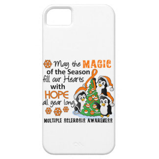 Christmas Penguins Multiple Sclerosis MS iPhone 5 Cover