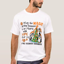 Christmas Penguins Multiple Sclerosis MS T-Shirt