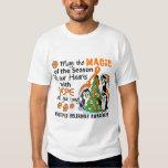 Christmas Penguins Multiple Sclerosis MS Tee Shirt