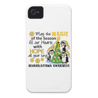 Christmas Penguins Neuroblastoma Case-Mate iPhone 4 Cases