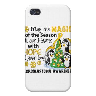 Christmas Penguins Neuroblastoma Case For iPhone 4