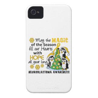 Christmas Penguins Neuroblastoma iPhone 4 Case