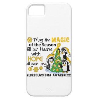 Christmas Penguins Neuroblastoma iPhone 5 Covers