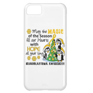 Christmas Penguins Neuroblastoma iPhone 5C Cases