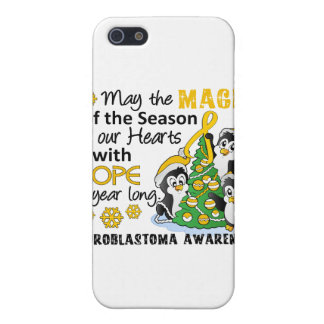 Christmas Penguins Neuroblastoma Covers For iPhone 5