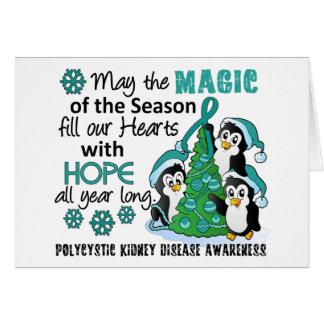 Christmas Penguins PKD Card