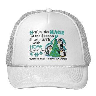 Christmas Penguins PKD Mesh Hats