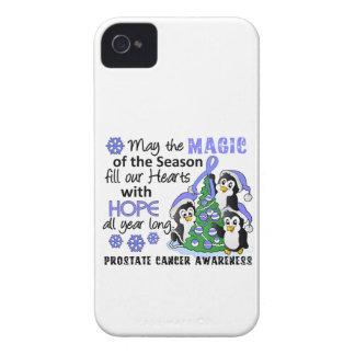Christmas Penguins Prostate Cancer iPhone 4 Case