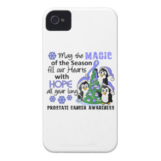 Christmas Penguins Prostate Cancer iPhone 4 Cover