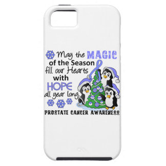 Christmas Penguins Prostate Cancer iPhone 5 Cases