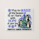 Christmas Penguins Prostate Cancer Jigsaw Puzzles