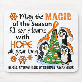 Christmas Penguins RSD Mouse Pad