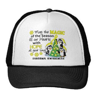 Christmas Penguins Sarcoma Hat
