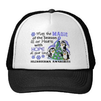 Christmas Penguins Scleroderma Trucker Hat