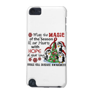 Christmas Penguins Sickle Cell Disease iPod Touch 5G Covers