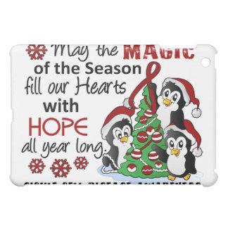 Christmas Penguins Sickle Cell Disease iPad Mini Cases