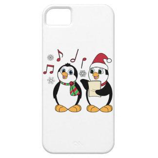 Christmas Penguins Singing iPhone SE/5/5s Case