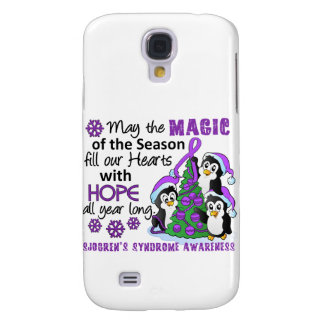 Christmas Penguins Sjogren's Syndrome Galaxy S4 Covers
